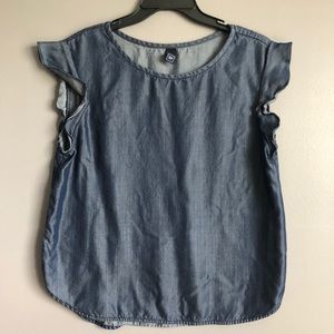 Gap • Chambray Denim Top